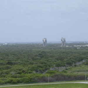 Launch Complex 17 in the background.